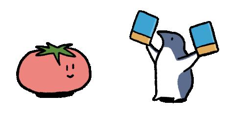 ペンギンと本
